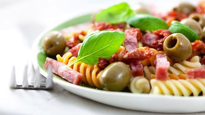 salade torsade olives