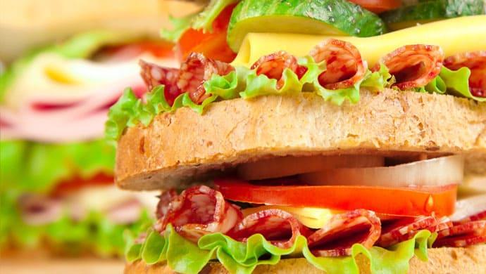 Sandwich Rosette et fromage